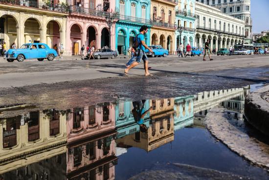 Havana Puddle Reflection